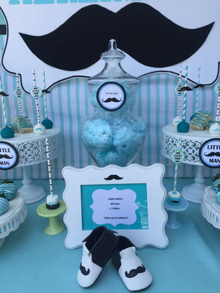 mustache baby shower baby shower party ideas photo 6 of 10 catch