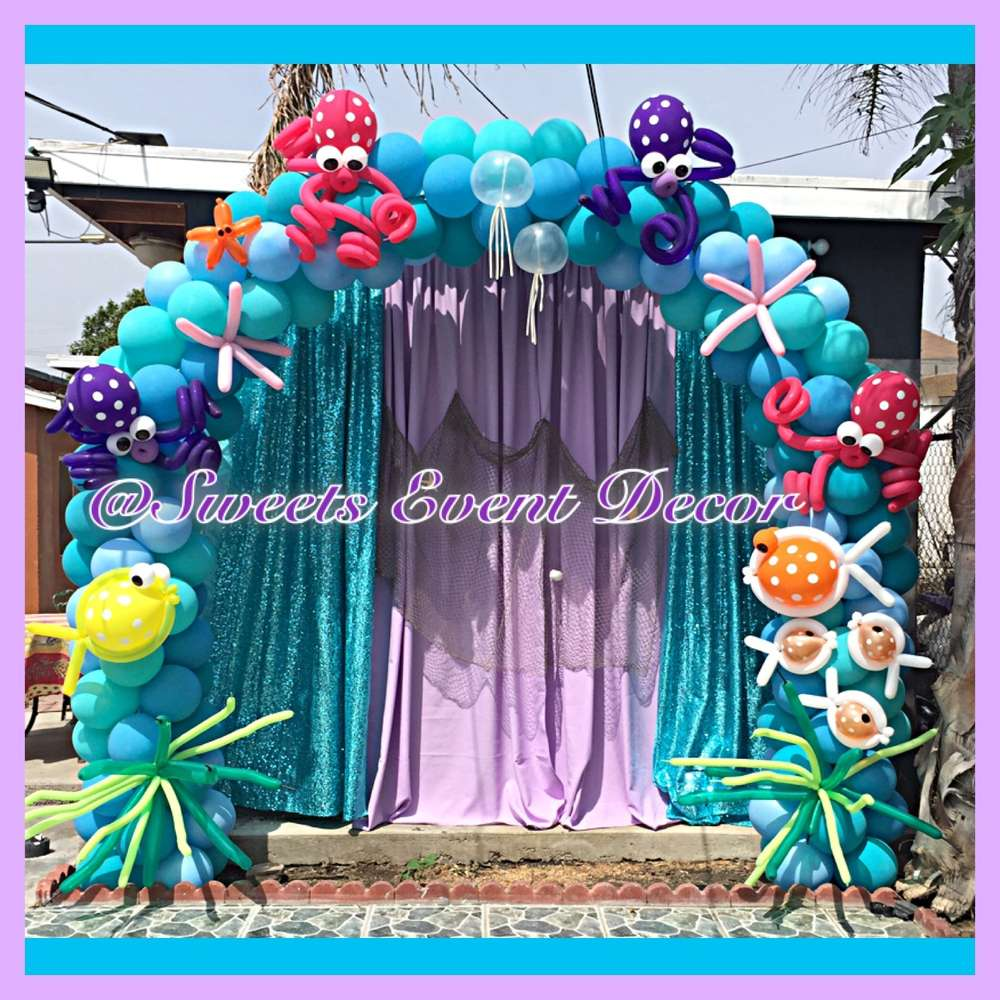Under The Sea Birthday Party Ideas Photo 1 Of 11 Catch My Party