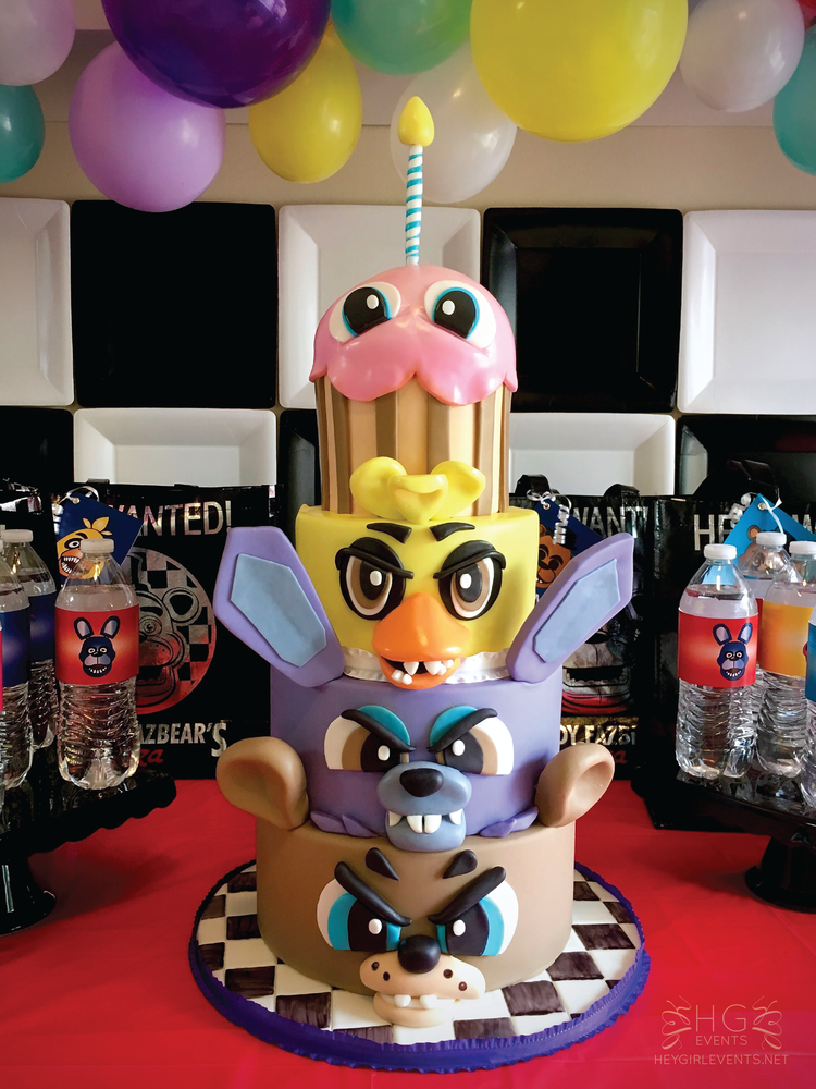 Five Nights At Freddy's Birthday Party Ideas | Photo 1 of ...
