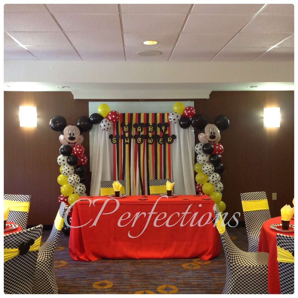 mickey mouse baby shower party ideas photo 7 of 7 catch my party