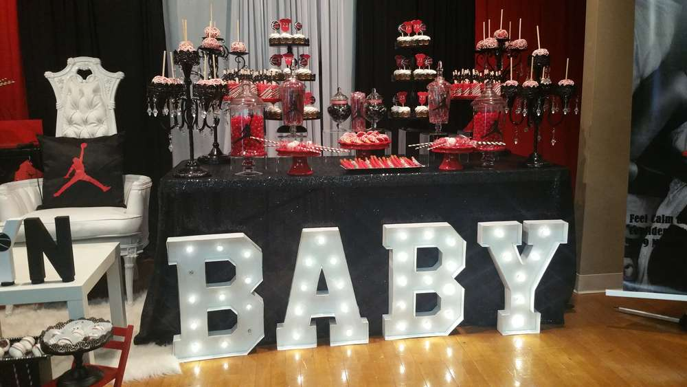 michael jordan baby shower party ideas photo 1 of 15 catch my
