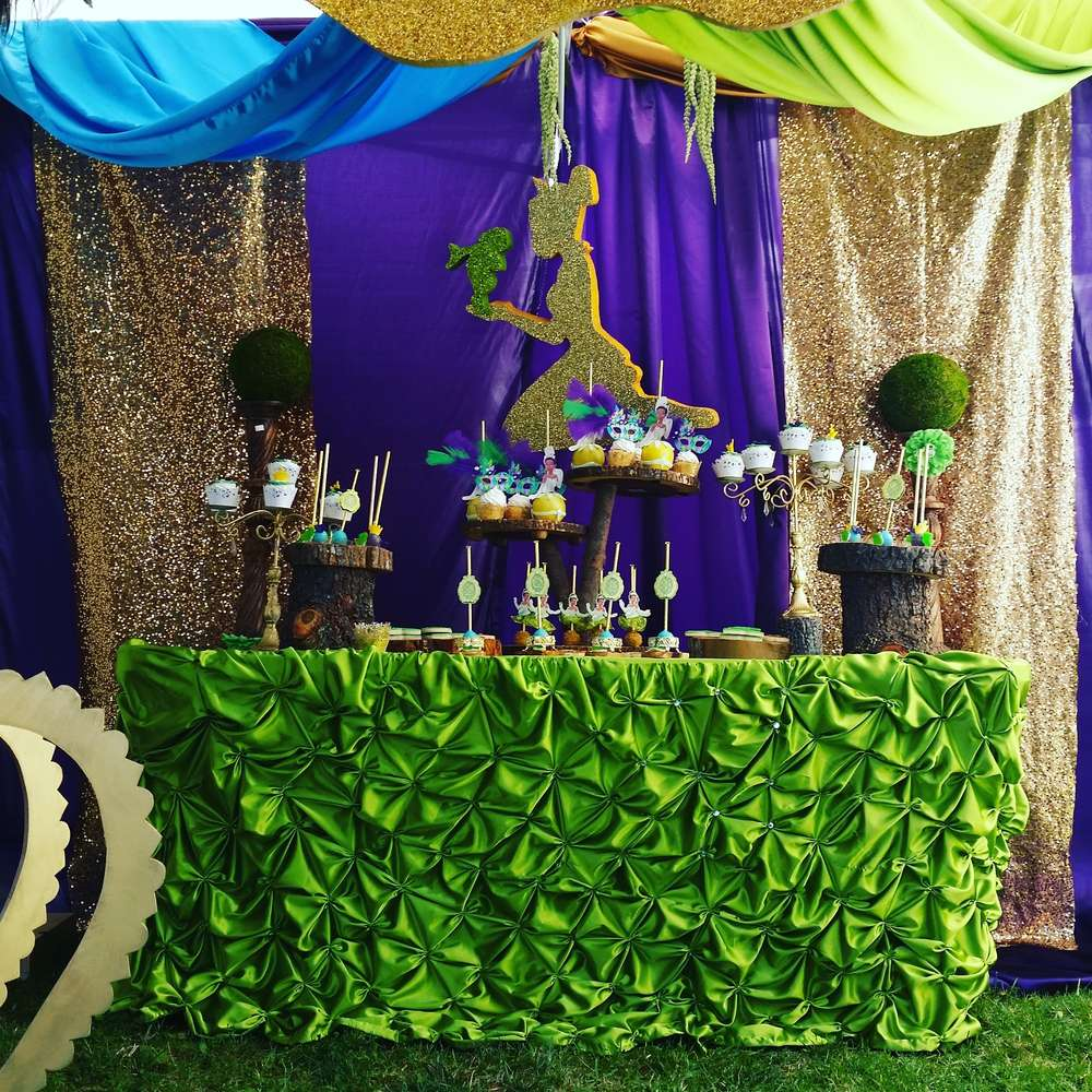 Princess And The Frog Birthday Party Ideas Photo 1 Of 7