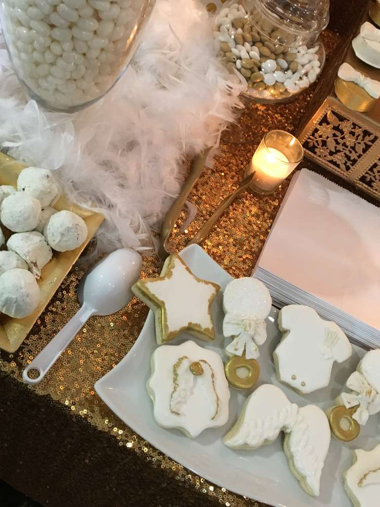 Heaven Sent Baby Shower Party Ideas Photo 35 Of 43