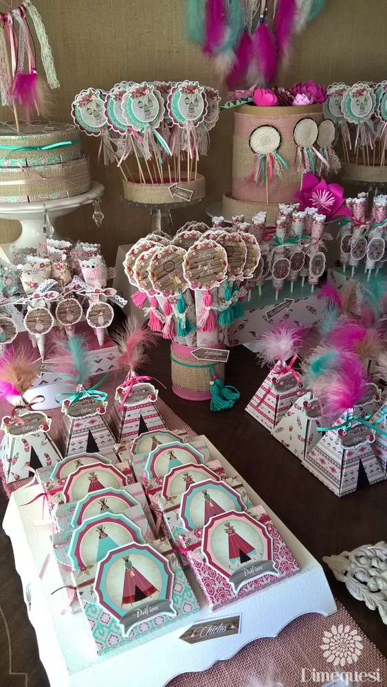 Boho Chic Quinceañera Party Ideas Photo 1 Of 28 Catch My