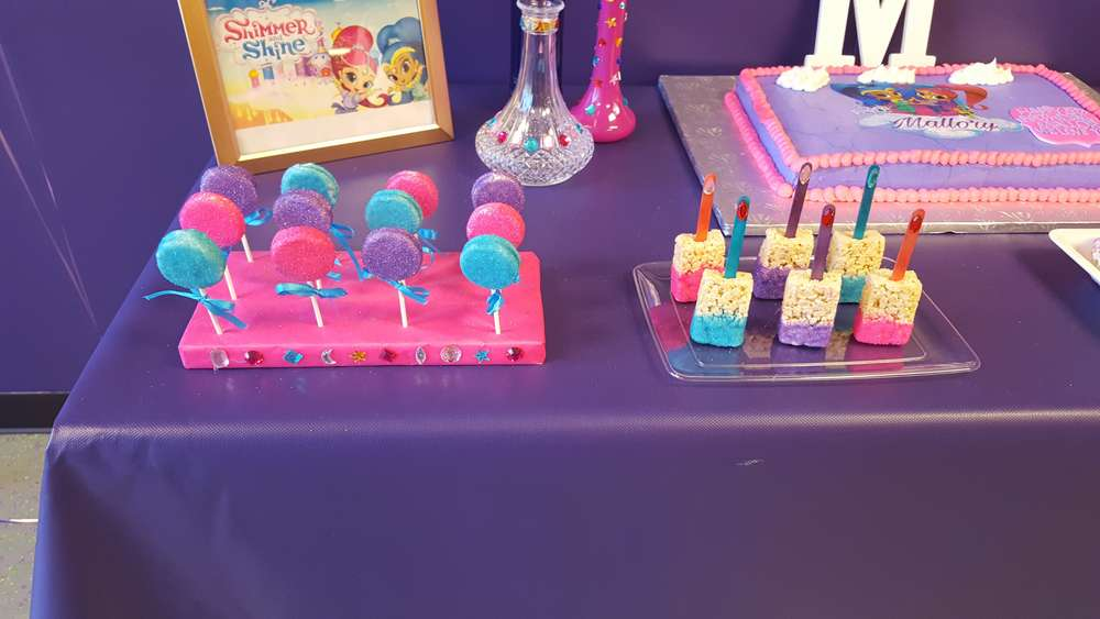 Shimmer and Shine Birthday Party Ideas | Photo 2 of 12 | Catch My Party