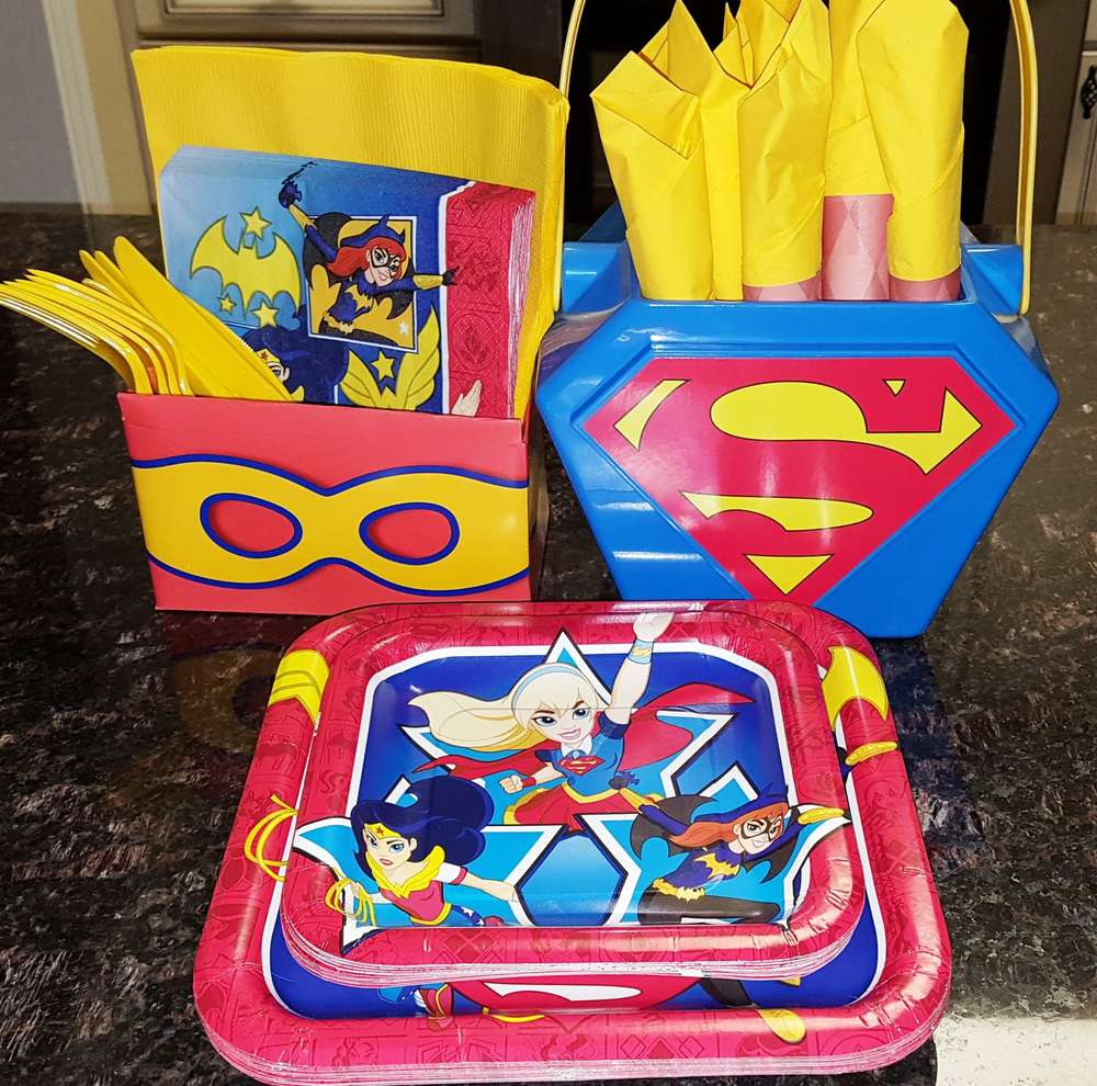 DC Superhero Girls Party Birthday Party Ideas