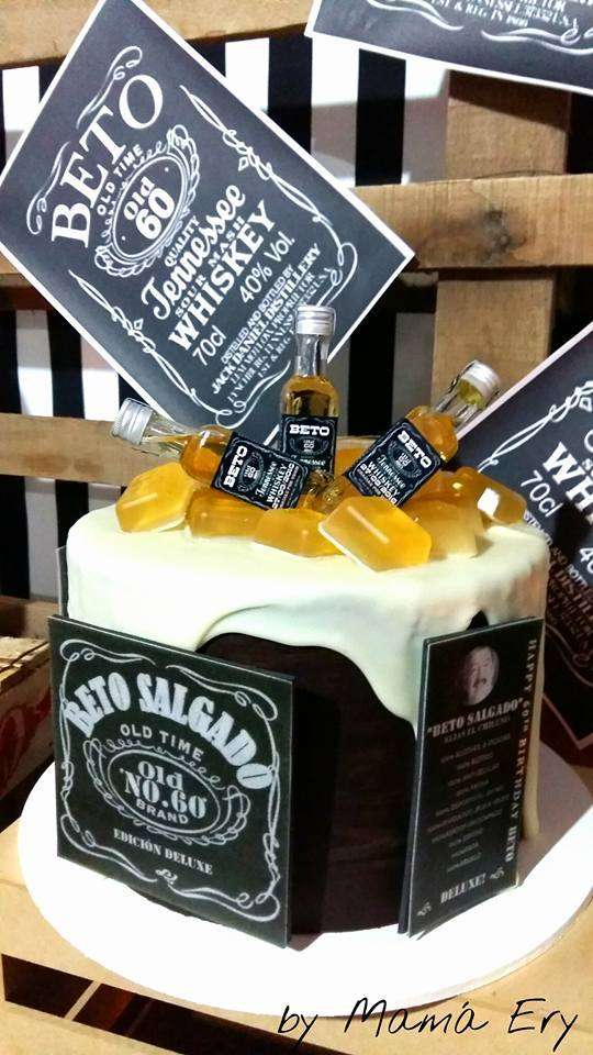 Jack Daniels 60 Th Old Birthday Party Ideas Photo 2 Of 33 Catch