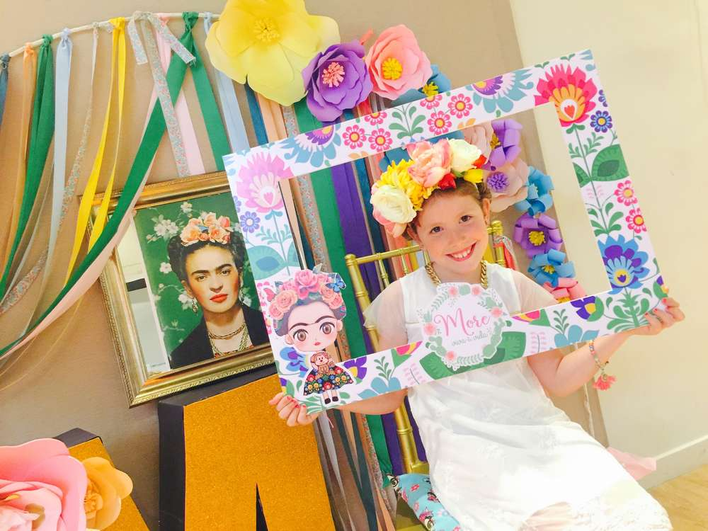 Frida kahlo mexican party birthday party ideas photo 2 - Fiestas infantiles tematicas ...