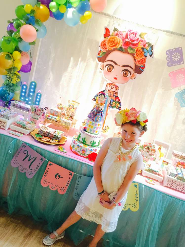 Frida Kahlo Mexican Party Birthday Party Ideas Photo 2