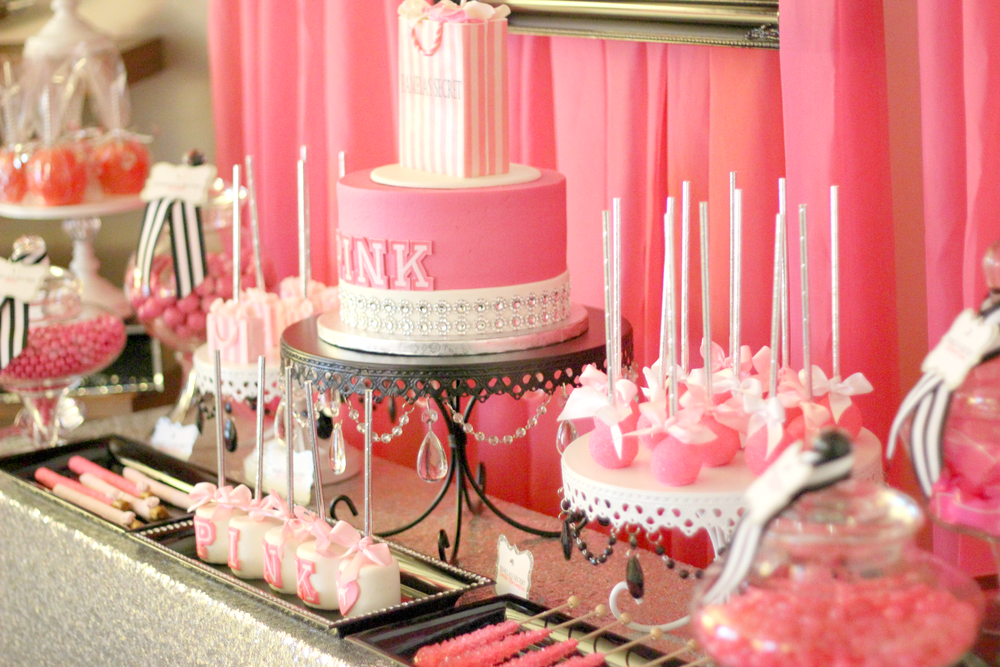 Victoria Secret Quot Pink Quot Birthday Party Ideas Photo 3 Of