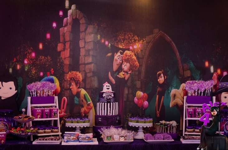 Hotel Transylvania Birthday Party Ideas Photo 2 Of 29