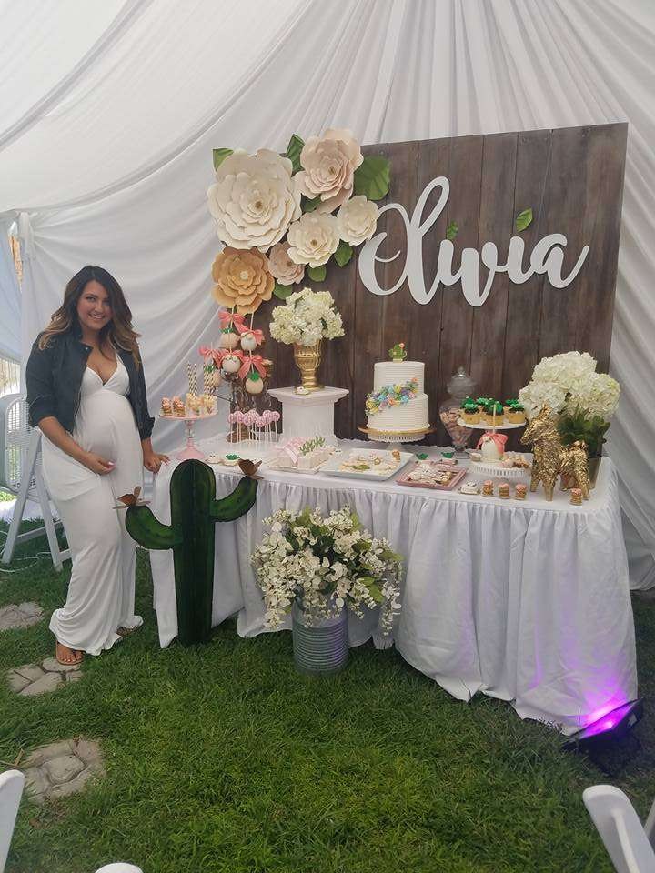Glam Mexican Boho Baby Shower Party Ideas Photo 7 Of 13
