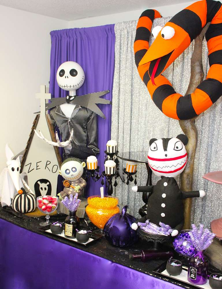 nightmare before christmas - Nightmare Before Christmas Birthday Decorations