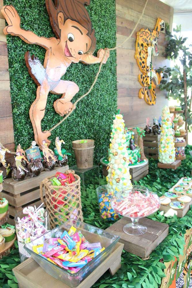 disney tarzan birthday party ideas