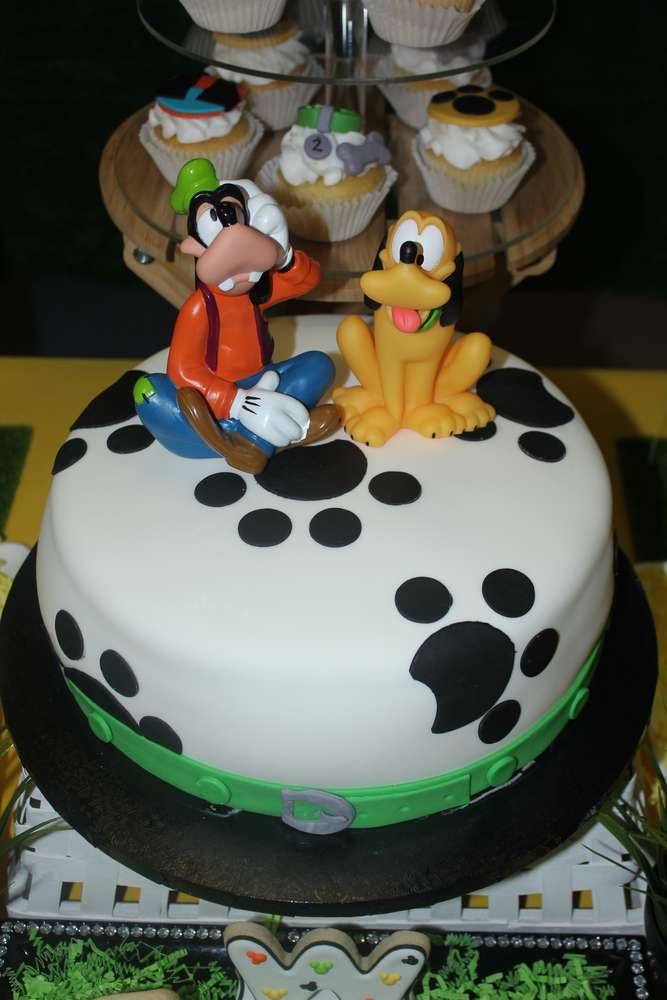 Terrific Pluto Goofy Birthday Party Ideas Photo 4 Of 25 Catch My Party Funny Birthday Cards Online Elaedamsfinfo