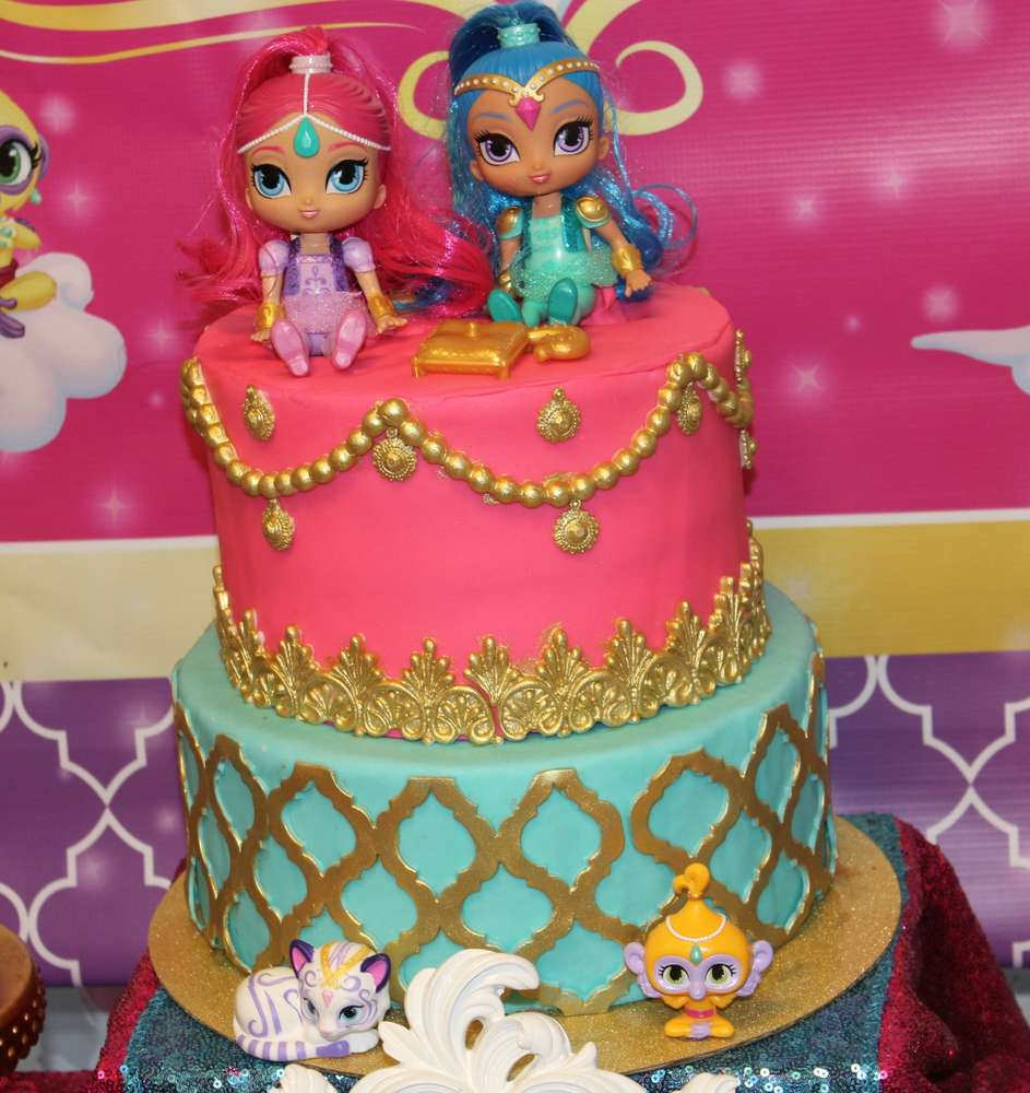 Shimmer & Shine Birthday Party Ideas | Photo 6 of 12 | Catch My Party