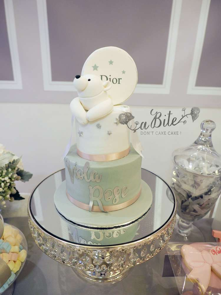 Baby Dior Birthday Party Ideas Photo 2 Of 9 Catch My Party