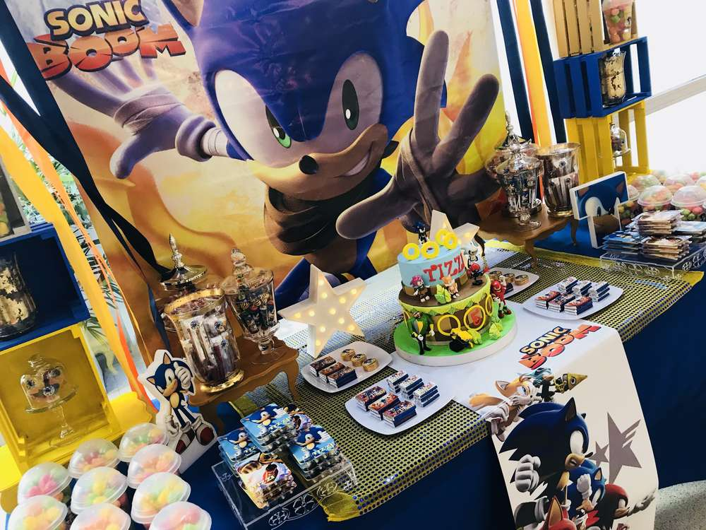 Sonic The Hedgehog Birthday Party Ideas Photo 4 Of 14 Catch My Party
