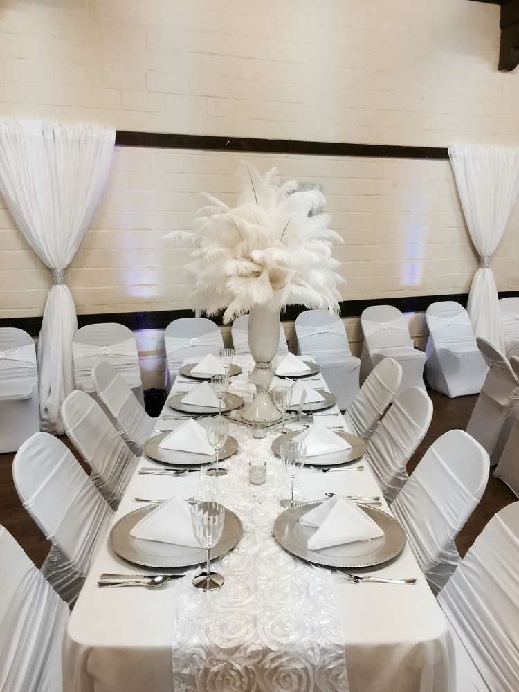 All White Party Birthday Party Ideas Photo 3 Of 11 Catch My Party