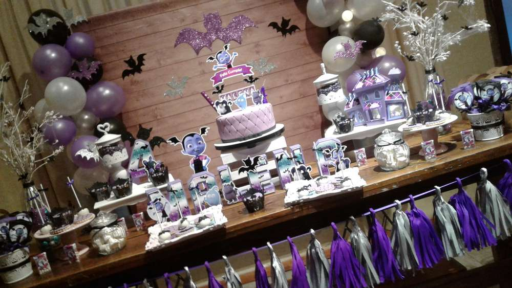 Vampirina Birthday Party Ideas Photo 2 Of 11 Catch My