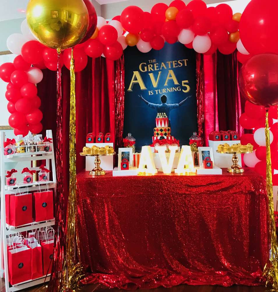 The Greatest Showman Party Birthday Party Ideas
