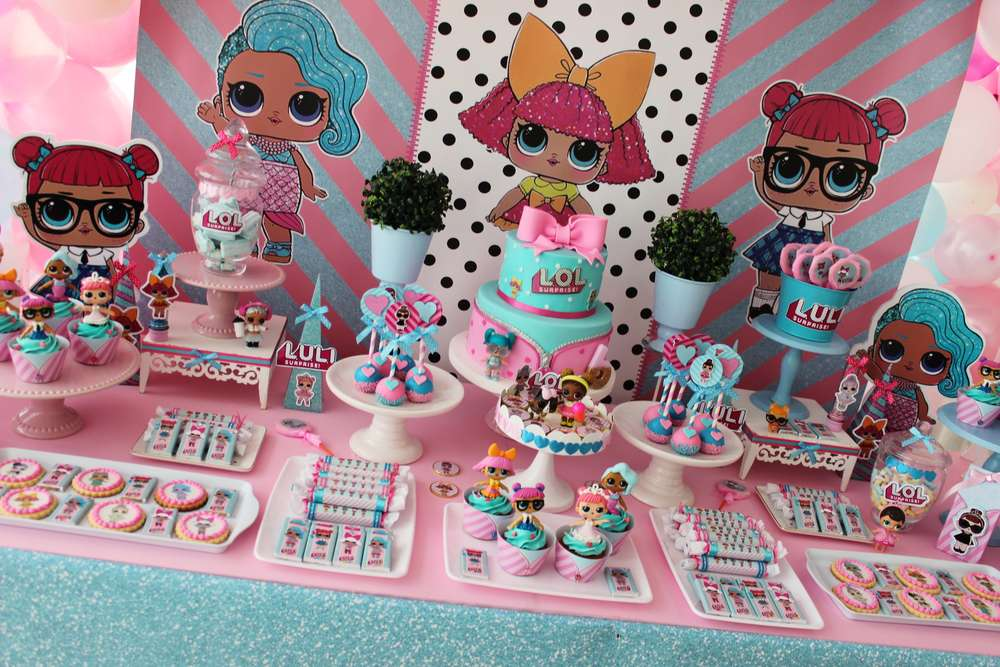 Lol Surprise Dolls Birthday Party Ideas Photo 2 Of 19