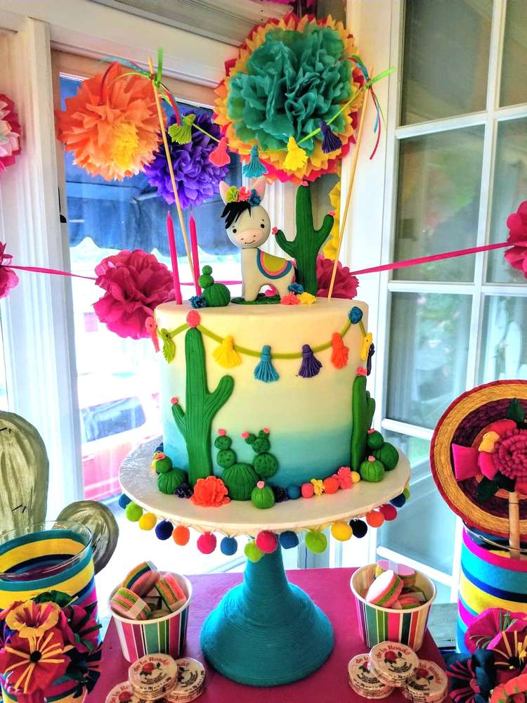 Wondrous Mexican Fiesta Birthday Party Ideas Photo 2 Of 59 Catch My Party Birthday Cards Printable Opercafe Filternl