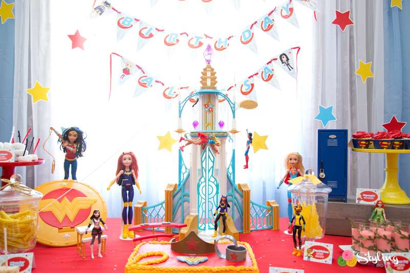 Dc Superhero Girls Birthday Party Ideas Photo 3 Of 32
