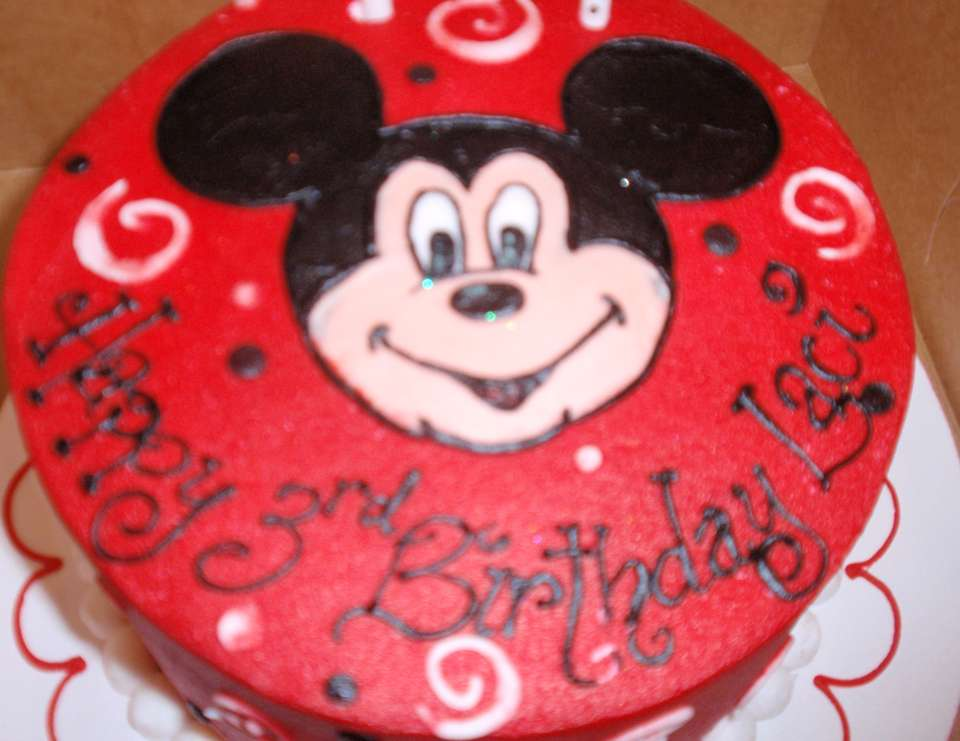 Mickey Mouse Clubhouse 3rd Birthday Party - Disney - Mickey Mouse