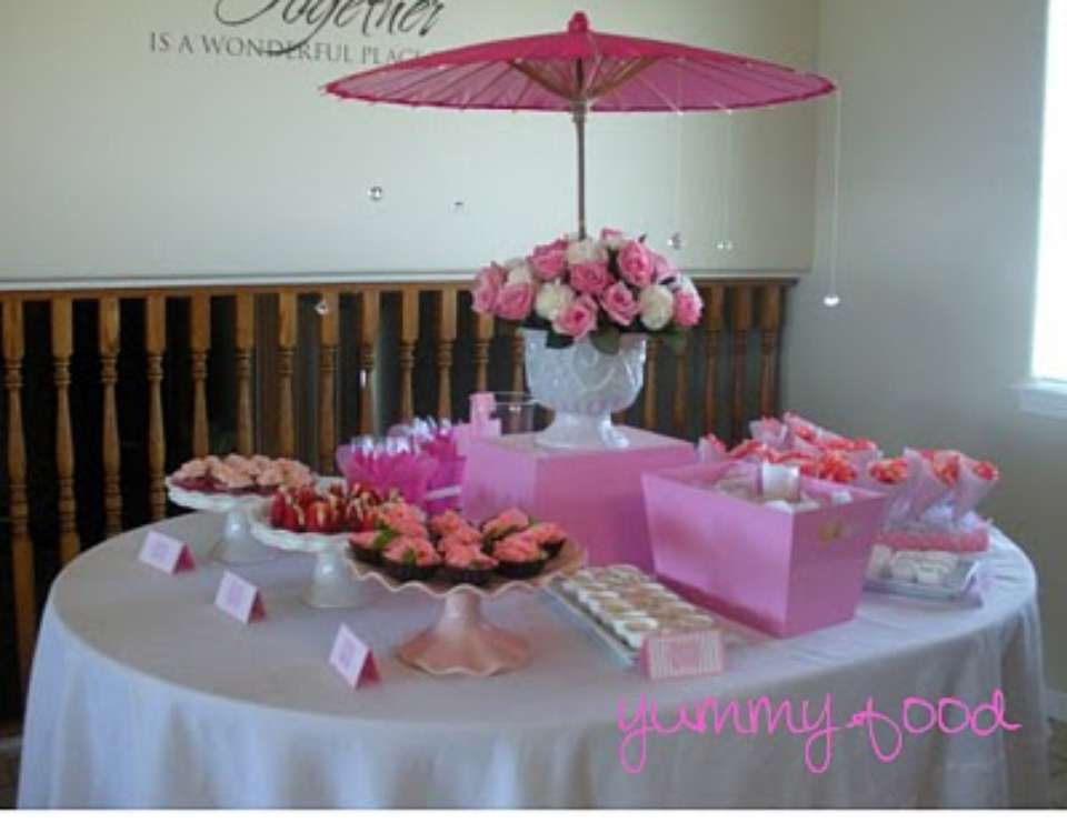 Pleasantly Pink Baby Shower - None