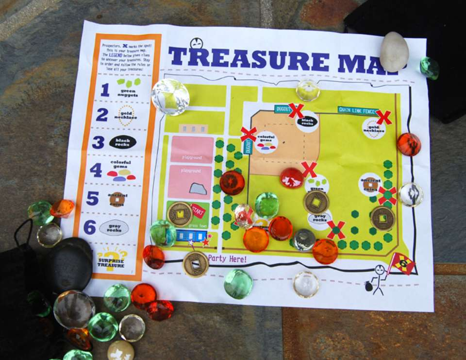 Treasure Hunt Party - Treasure Hunt in the Park