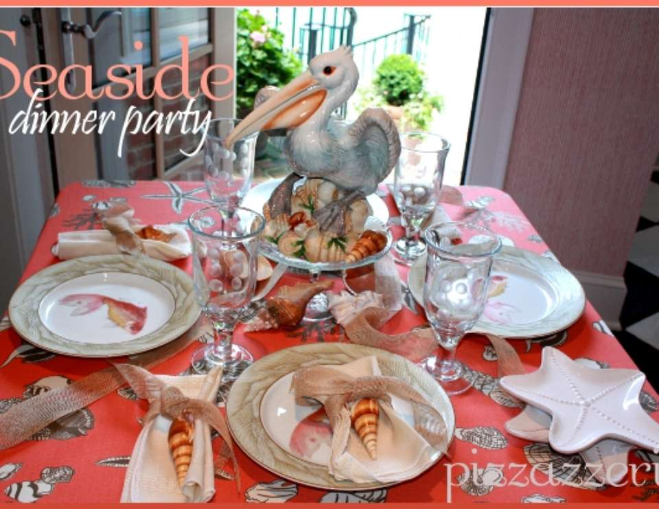 Seaside Dinner Party - Nautical