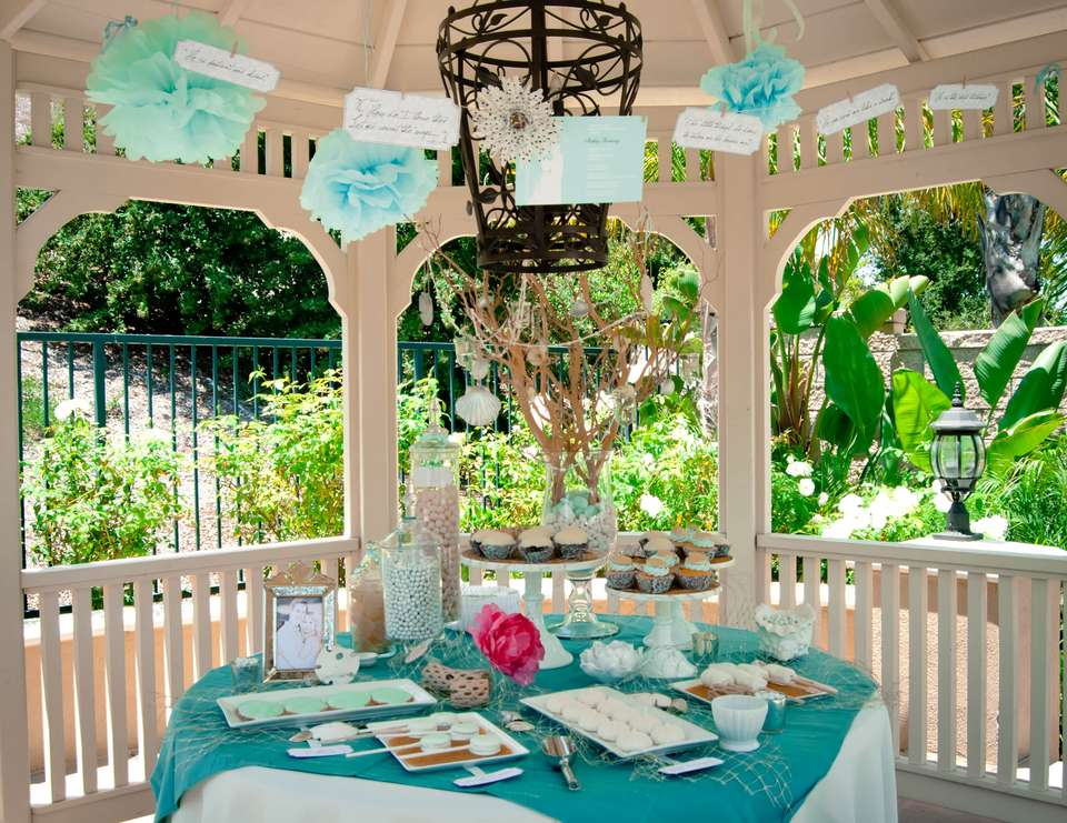 Elegant Beach Bridal Shower - Coastal
