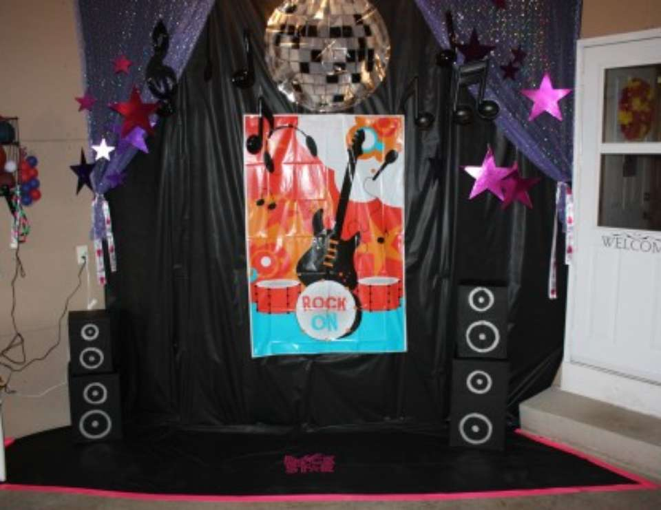 Grace's Rock Star/High School Musical/Hannah Montana 6th Birthday Party - Rock Star