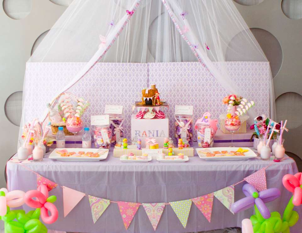 Four years old party - Fairy Princess party
