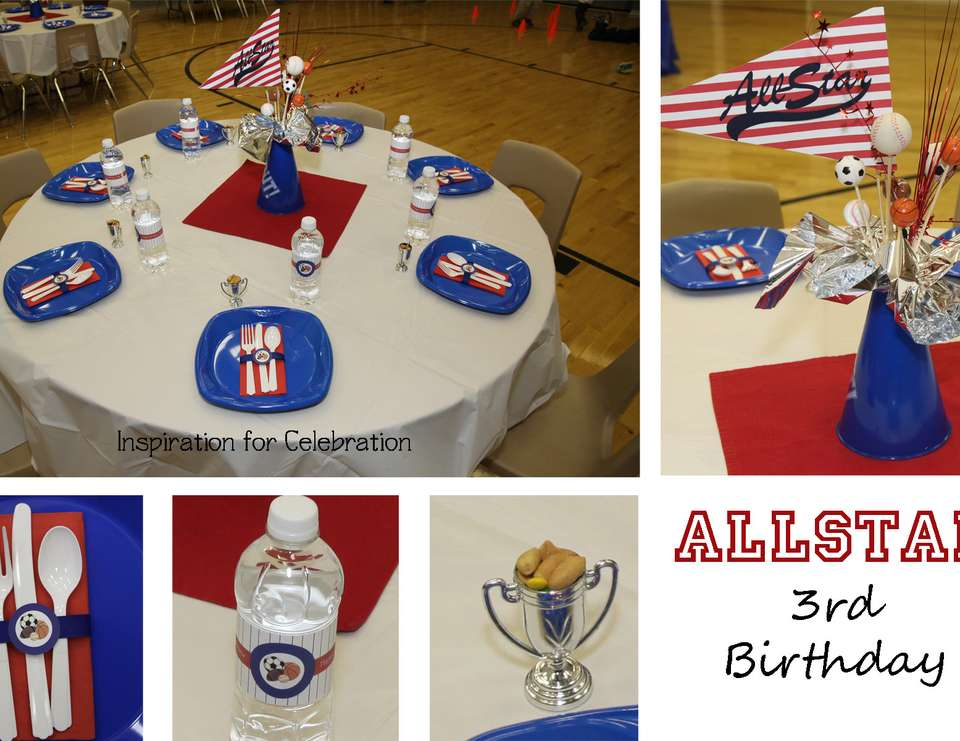 All American Sports Party - Sports