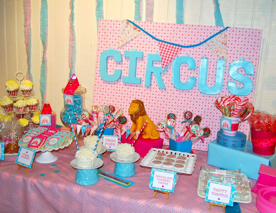 Vintage Circus  - Birthday Party