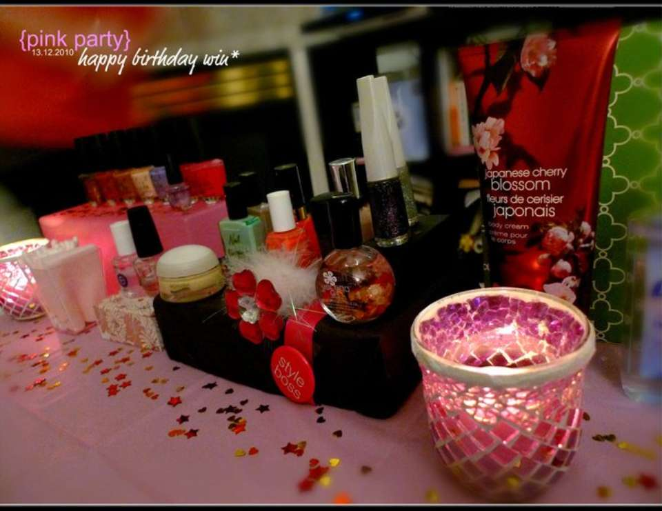 win love* {Pink Party} - Pink & Spa Party