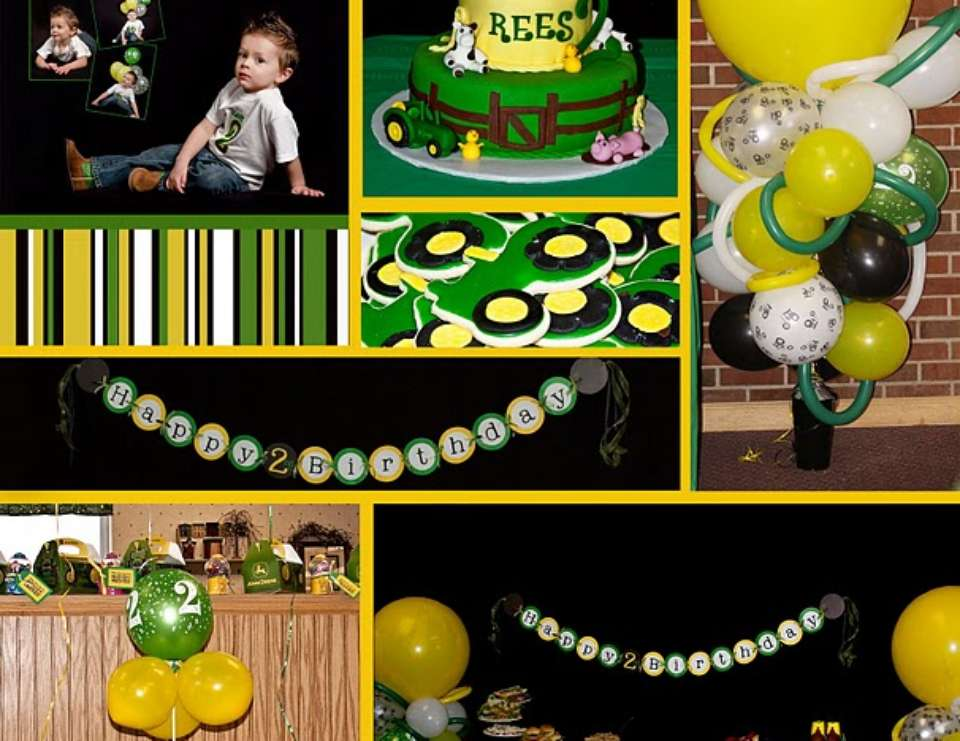 John Deere 2nd Birthday - John Deere
