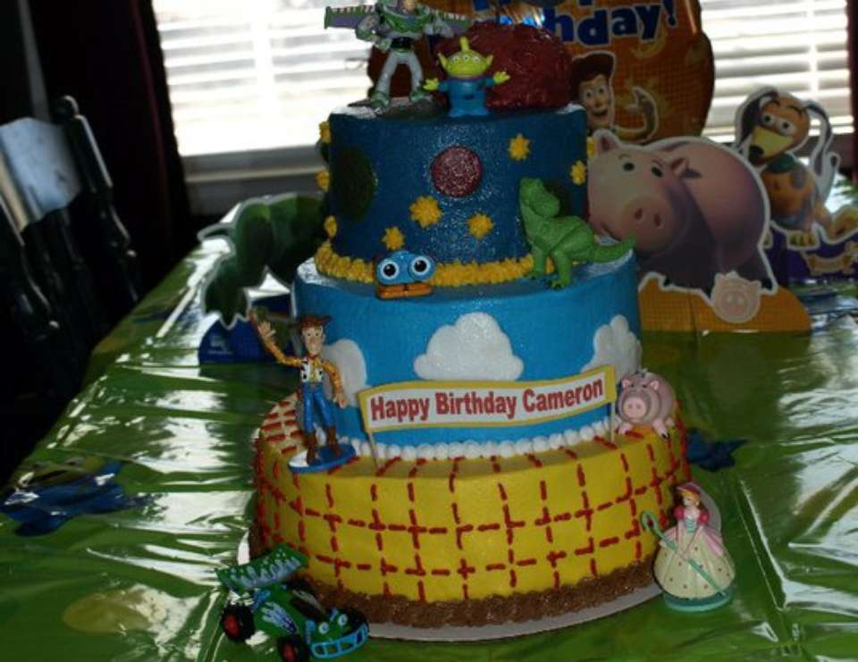 Cameron's 3rd Birthday - Toy Story