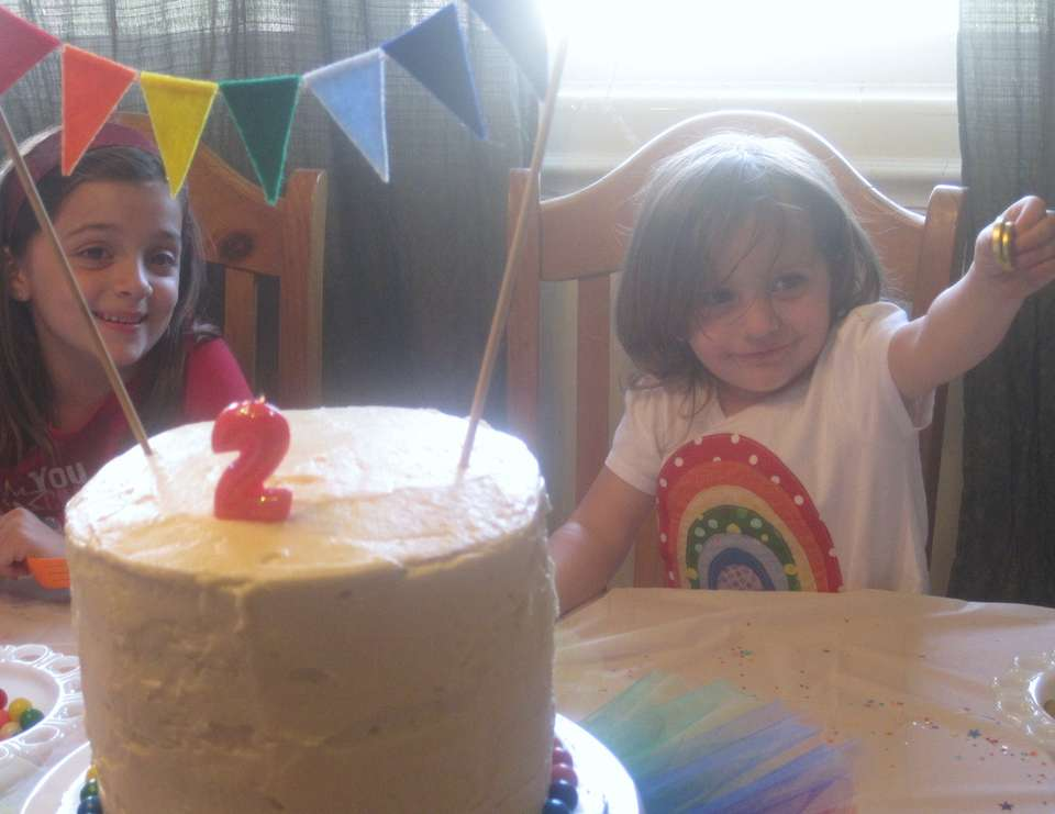 Morgan's Rainbow Party (2nd Birthday) - Rainbow
