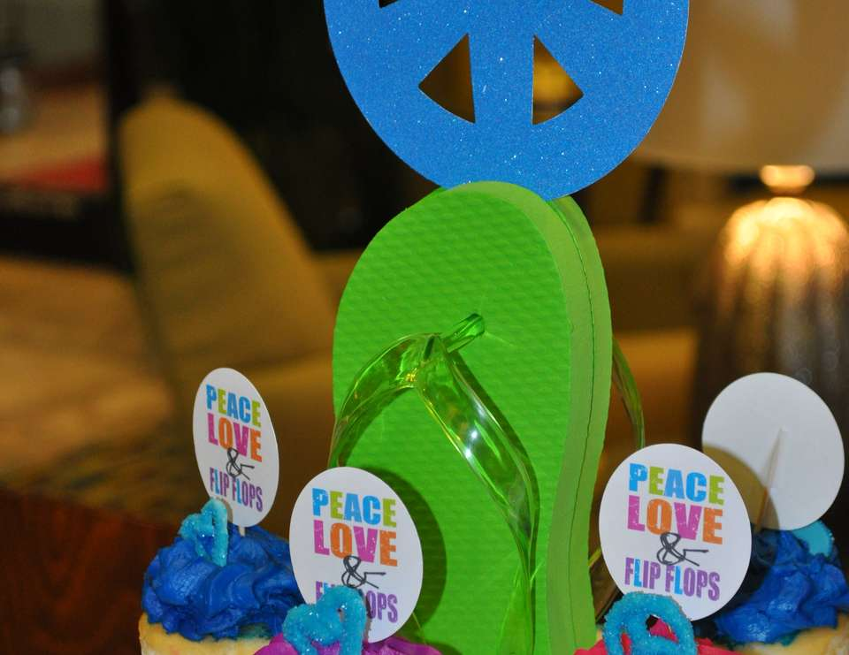 Peace, Love & Flip Flops - Pool Party