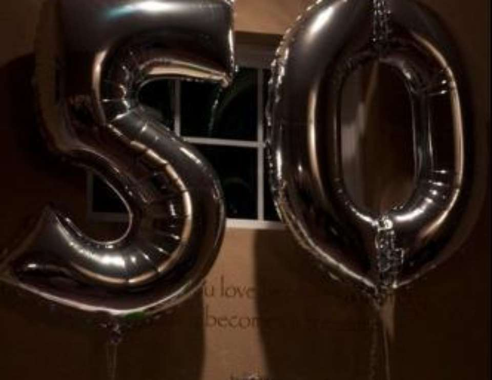 50th Birthday Party - Damask & Chandeliers