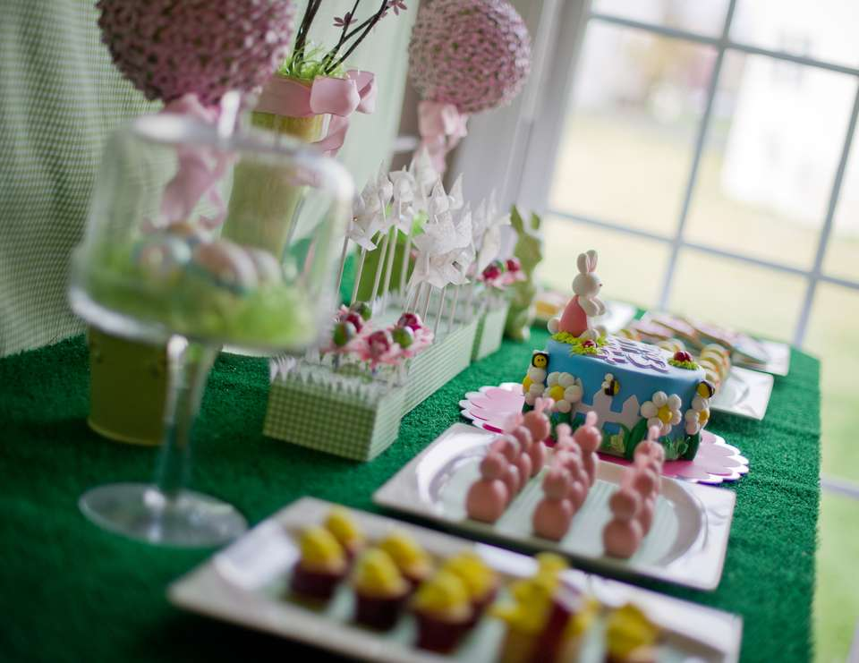 Gingham Easter Party - Gingham