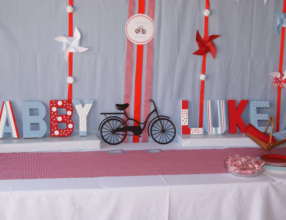 Bicycle Birthday Party - Bicycle