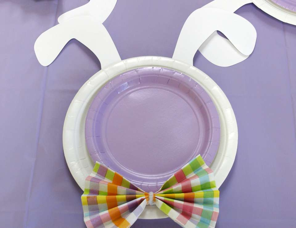 Simple Preschool Easter Party - Bunnies and Bows