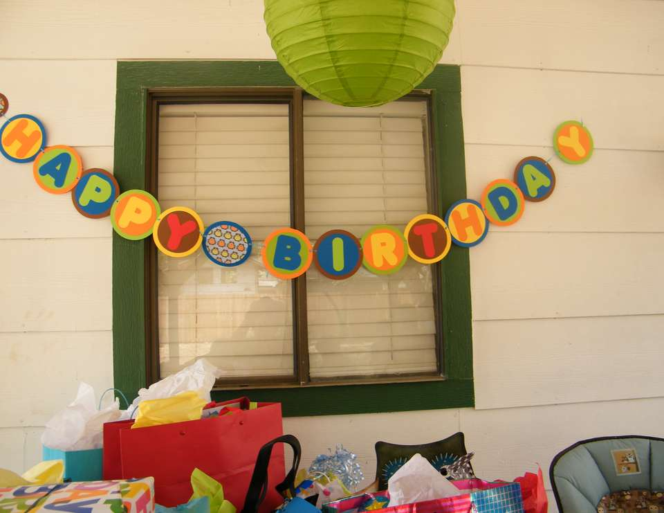It's a hoot! - 1st birthday party