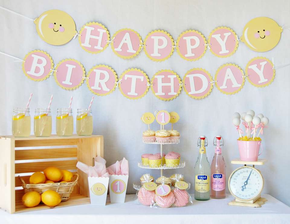 Pink Lemonade First Birthday - Pink Lemonade