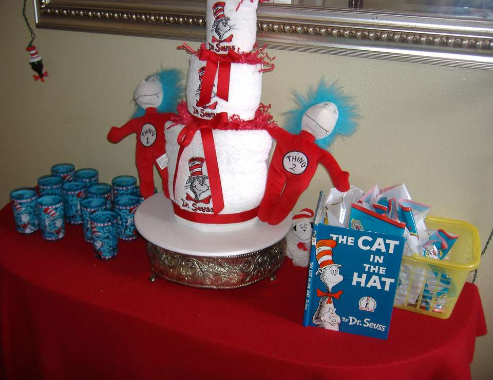 Kaden's Birthday-The Cat In The Hat - Dr. Seuss