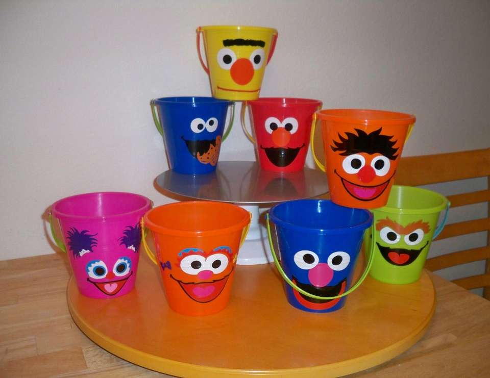 Summer party favors  - Sesame Street